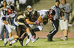 Torrance, CA 10/25/13 - Lance Brown (Palos Verdes #7), Dale Rouse (West Torrance #4) and unidentified West Torrance player(s)