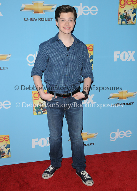 Chris Colfer. at Fox's Premiere Screening & Party for Glee held at Paramount Studios in Hollywood, California on September 07,2010                                                                   Copyright 2010  Hollywood Press Agency
