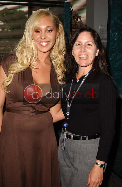 Mary Carey<br />registers as a candidate for California's upcoming Gubernatorial election. Los Angeles County Clerks Office, Norwalk, CA. 05-09-06<br />Dave Edwards/DailyCeleb.com 818-249-4998