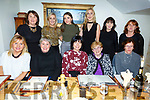 Liz O&rsquo;Donnell from Finuge/St Senans celebrating her birthday in Bella Bia on Friday night.<br /> Seated l-r, Jacinta Bourke, Laura Boyle, Liz O&rsquo;Donnell, Mary Boyle and Sheila McCarthy.<br /> Back l-r, Geraldine O&rsquo;Donoghue, Aisling O&rsquo;Kelly, Orla O&rsquo;Donoghue, Niamh and Marina Sheehy and  Rose O&rsquo;Connell.