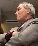 Joe Demma photographed at the Celebration of the 35th Anniverserary of Newsday Investigations Team held in Newsday Auditorium in Melville on Thursday September 26, 2002. (Newsday photo by Jim Peppler).