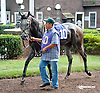 Agustina de Aragon before The Forever Together Stakes at Delaware Park on 9/11/13