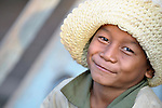A boy in the Cambodian village of Att Su.