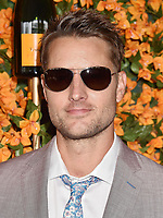 PACIFIC PALISADES, CA - OCTOBER 06: Justin Hartley arrives at the 9th Annual Veuve Clicquot Polo Classic Los Angeles at Will Rogers State Historic Park on October 6, 2018 in Pacific Palisades, California.<br /> CAP/ROT/TM<br /> &copy;TM/ROT/Capital Pictures