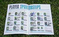 Players signed Programme during the Sky Bet League 2 match between Wycombe Wanderers and Crawley Town at Adams Park, High Wycombe, England on 28 December 2015. Photo by Andy Rowland / PRiME Media Images