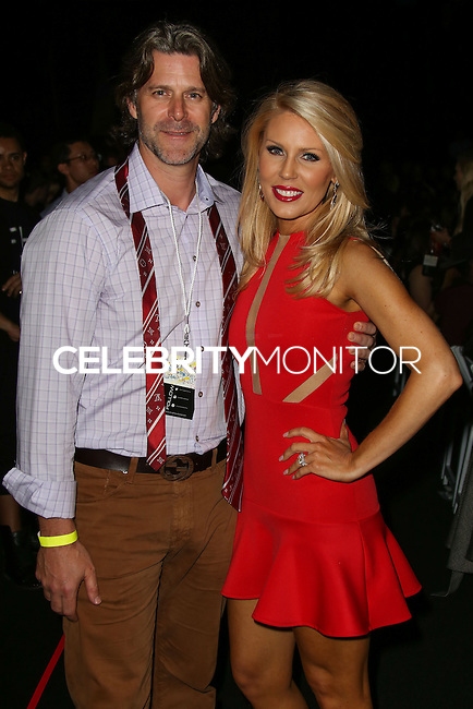 LOS ANGELES, CA, USA - MARCH 10: Slade Smiley, Gretchen Rossi at the Style Fashion Week LA 2014 7th Season held at L.A. Live Event Deck on March 10, 2014 in Los Angeles, California, United States. (Photo by Xavier Collin/Celebrity Monitor)