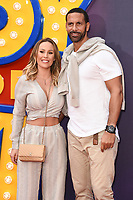 "Kate Wright and Rio Ferdinand<br /> arriving for the ""Toy Story 4"" premiere at the Odeon Luxe, Leicester Square, London<br /> <br /> ©Ash Knotek  D3509  16/06/2019"