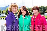 Noreen Hickey, Gillian Mclellan, Margaret McLellan at the Ronald McDonald walk for families in Killarney on Saturday
