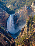 The Grand Canyon of the Yellowstone is beautriful.