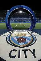 A general view of The Etihad, home of Manchester City ahead of kick-off<br /> <br /> Photographer Rich Linley/CameraSport<br /> <br /> UEFA Champions League Group F - Manchester City v TSG 1899 Hoffenheim - Wednesday 12th December 2018 - The Etihad - Manchester<br />  <br /> World Copyright © 2018 CameraSport. All rights reserved. 43 Linden Ave. Countesthorpe. Leicester. England. LE8 5PG - Tel: +44 (0) 116 277 4147 - admin@camerasport.com - www.camerasport.com