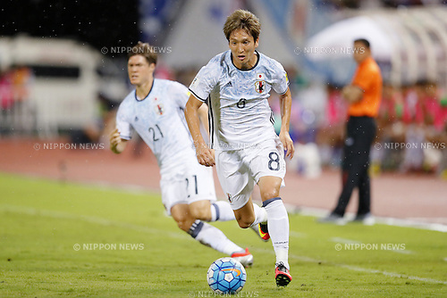 Genki Haraguchi (JPN), SEPTEMBER 6, 2016 - Football / Soccer : FIFA World Cup Russia 2018 Asian Qualifier Final Round Group B match between Thailand 0-2 Japan FIFA World Cup Russia 2018 Asian Qualifier Final Round Group B match between Thailand - Japan at Rajamangala National Stadium, Bangkok, Thailand. (Photo by Yusuke Nakanishi/AFLO SPORT)