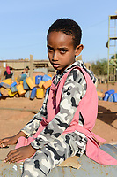 ETHIOPIA, Tigray, Shire, eritrean refugee camp May-Ayni managed by ARRA and UNHCR / AETHIOPIEN, Tigray, Shire, Fluechtlingslager May-Ayni fuer eritreische Fluechtlinge