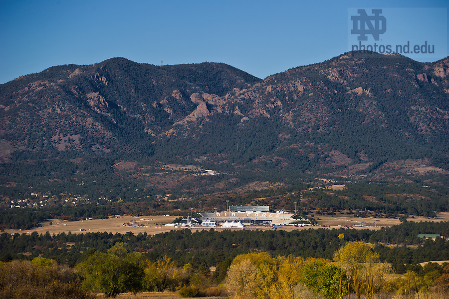 Oct. 26, 2013; Falcon Stadium, United States Air Force Academy.