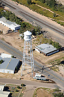 Water tower at Littlefield, Texas. Hometown of Waylon Jennings. Sept 2013