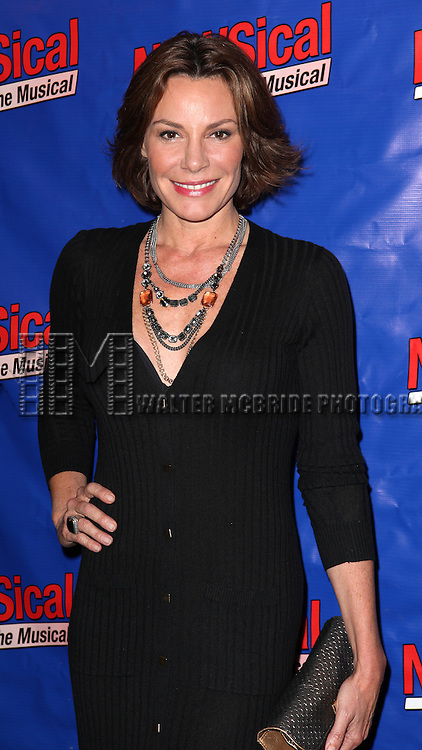 LuAnn De Lesseps attending the Opening Night Performance of Perez Hilton in 'NEWSical The Musical' at the Kirk Theatre  in New York City on September 17, 2012.