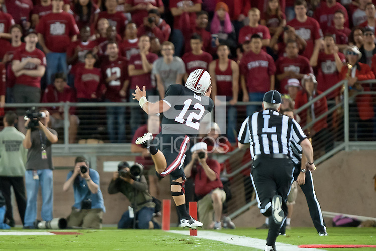 STANFORD, CA - OCTOBER 1: Stanford defeats UCLA 45-19 at Stanford Stadium, October1, 2011 in Stanford, California.