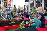 Utrecht, 24 september 2011.Nederlands Film Festival.Door de bril van Annie MG .Kinder workshop.Foto Felix Kalkman