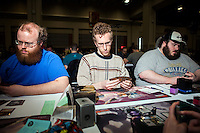 Magic: The Gathering reports about 20 million players and fans worldwide. The game is printed in 11 languages and sold in about 70 countries. <br /> <br /> Danny Ghitis for Bloomberg Businessweek