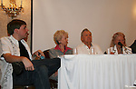 Matt Beckoff, Diana Sowle, Bob Hastings, Rosemary Rice at 4th Annual Mid-Atlantic Nostalgia Convention in Aberdeen, Maryland. (Photo by Sue Coflin/Max Photos)