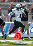 South Florida's Andre Davis (81) scores on a 51-yard reception against Nevada during the first half of an NCAA college football game Saturday, Sept. 8, 2012, in Reno, Nev. (AP Photo/Cathleen Allison)