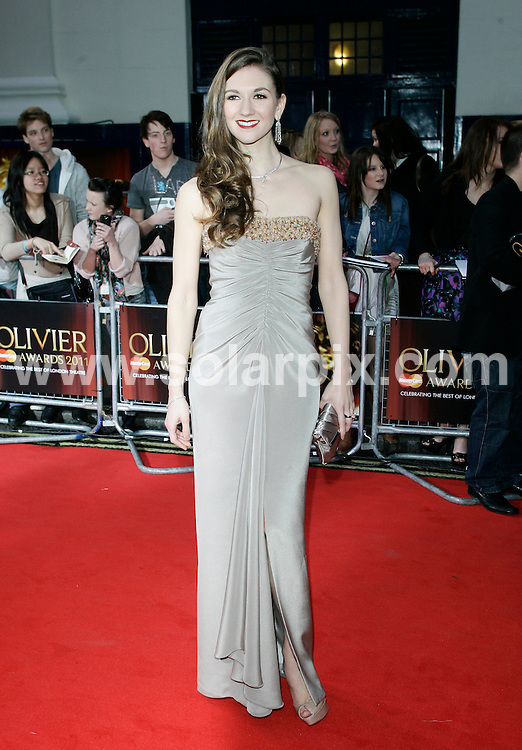 **ALL ROUND PICTURES FROM SOLARPIX.COM**                                             **WORLDWIDE SYNDICATION RIGHTS**                                                                                  Caption: arrivals at the Laurence Olivier Awards at the Theatre Royal Drury Lane, London, UK. Sunday 13 March 2010                              This pic: Summer Strallen                                                                                        JOB REF: 12959 LNJ       DATE: 13_03_2011                                                           **MUST CREDIT SOLARPIX.COM OR DOUBLE FEE WILL BE CHARGED**                                                                      **MUST AGREE FEE BEFORE ONLINE USAGE**                               **CALL US ON: +34 952 811 768 or LOW RATE FROM UK 0844 617 7637**
