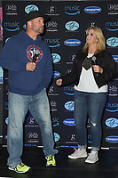 LOS ANGELES - July 21:  Garth Brooks, Trisha Yearwood at the Garth Brooks World Tour with Trisha Yearwood Press Conference at the Forum on July 21, 2017 in Inglewood, CA