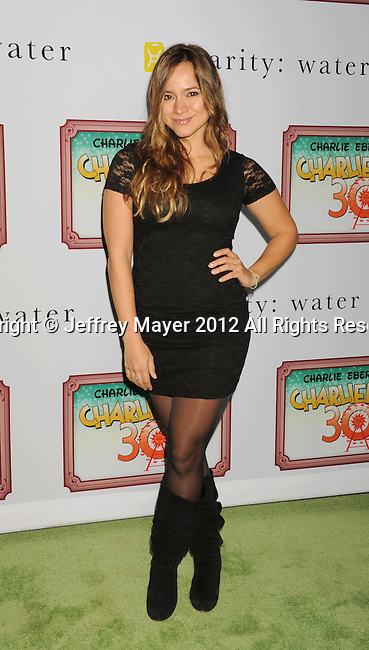 LOS ANGELES, CA - DECEMBER 08: Luciana Faulhaber  attends Charlie Ebersol's 'Charlieland' Birthday Party And Charity: Water Fundraiser on December 8, 2012 in Los Angeles, California.