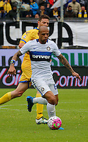 Felipe Melo  during the  italian serie a soccer match,between Frosinone and Inter      at  the Matusa   stadium in Frosinone  Italy , April 09, 2016