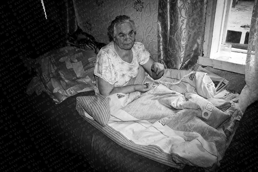 Documenting the echos of Chernobyl Tragedy, Wladimir and Andrej Peschkun. People returning to the exclusion zone. This area serves as a long term reminder of the mass destruction caused by the nuclear explosion in Chernobyl, Ukraine on April 25-26, 1986.