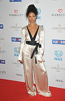 Vick Hope (Victoria Nwosu-Hope) at the Football For Peace Initiative Dinner by Global Gift Foundation, Corinthia Hotel, Whitehall Place, London, England, UK, on Monday 08th April 2019.<br /> CAP/CAN<br /> ©CAN/Capital Pictures