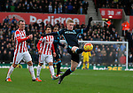 Kevin De Bruyne of Manchester City at full-stretch - Football - Barclays Premier League - Stoke City vs Manchester City - Britannia Stadium Stoke - December 5th 2015 - Season 2015/2016 - Photo Malcolm Couzens/Sportimage