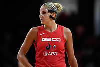 Washington, DC - August 25, 2019: Washington Mystics forward Elena Delle Donne (11) during first half action of game between the New York Liberty and the Washington Mystics at the Entertainment and Sports Arena in Washington, DC. The Mystics defeated New York 101-72. (Photo by Phil Peters/Media Images International)
