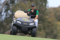 Trevor Immelman (Vice-Captain International Team) on the 10th fairway during the Second Round - Foursomes of the Presidents Cup 2019, Royal Melbourne Golf Club, Melbourne, Victoria, Australia. 13/12/2019.<br /> Picture Thos Caffrey / Golffile.ie<br /> <br /> All photo usage must carry mandatory copyright credit (© Golffile | Thos Caffrey)