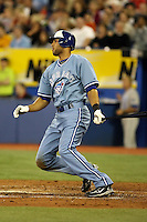 May 23rd 2008:  Outfielder Alex Rios (15) of the Toronto Blue Jays during a game at the Rogers Centre in Toronto, Ontario, Canada .  Photo by:  Mike Janes/Four Seam Images