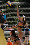 30.05.2015, Moskau, Vodny Stadion<br /> Moskau Grand Slam, Main Draw / Viertelfinale<br /> <br /> Angriff Larissa Franca (#1 BRA)<br /> <br />   Foto &copy; nordphoto / Kurth