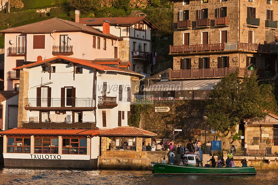 Europe/Espagne/Pays Basque/Guipuscoa/Pays Basque/Pasaia Donibane: Le quartier des pêcheurs