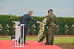 Ceremony of the bicentenary of the Battle of Waterloo. Waterloo, 18 june 2015, Belgium<br /> Pics: King Philippe of Belgium