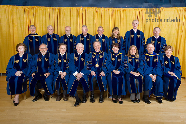 May 22, 2011; Honorary degree recipients, 2011..Photo by Matt Cashore/University of Notre Dame