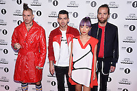 DNCE<br /> at the Radio 1 Teen Awards 2016, Wembley Arena, London.<br /> <br /> <br /> ©Ash Knotek  D3188  22/10/2016