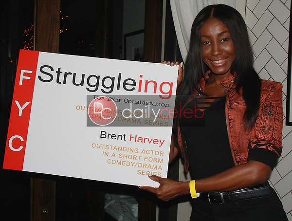 """Tanjareen<br /> at the """"Struggleing"""" For Your Consideration event hosted by A. Whole Productions and Brent Harvey Films, Crossroads Kitchen, Los Angeles, CA 06-06-18<br /> David Edwards/DailyCeleb.com 818-249-4998"""