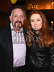 St Colmcilles President Pat Haigney with his grandaughterAisling Haigney at the Movember event in the d hotel. Photo:Colin Bell/pressphotos.ie
