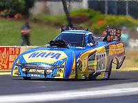 May 21, 2017; Topeka, KS, USA; NHRA funny car driver Ron Capps during the Heartland Nationals at Heartland Park Topeka. Mandatory Credit: Mark J. Rebilas-USA TODAY Sports