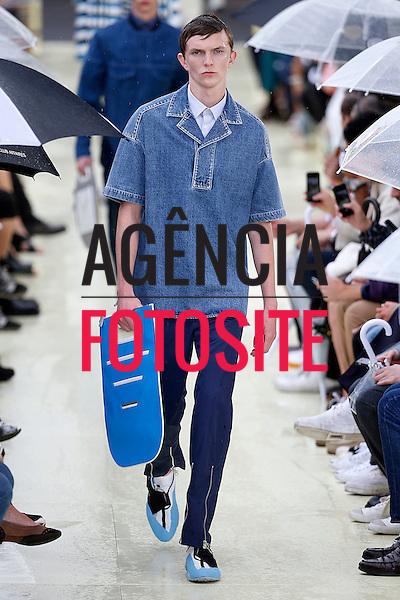 Paris, Franca &ndash; 06/2014 - Desfile de Kenzo durante a Semana de moda masculina de Paris - Verao 2015. <br /> Foto: FOTOSITE