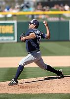 Brett Kennedy - San Diego Padres 2018 spring training (Bill Mitchell)