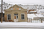 Austin covered with snow..IML Trucking building