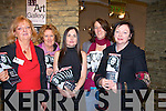 PROGRAMME: Looking over the programmes for the Samhai?ocht Kerry film Festival in Siamsa Tire Tralee on Saturday night, l-r: Noreen O'Sullivan, Katy Fitzgerald, Roisi?n McGuigan, Trish Thompson and Liz O'Keeffe............................ ..............................   Copyright Kerry's Eye 2008