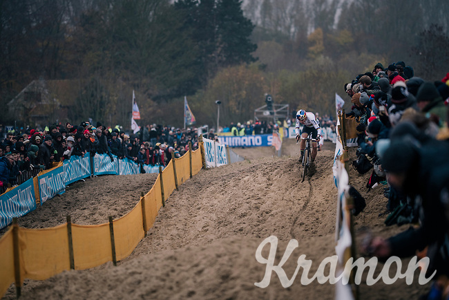 CX World Champion Wout Van Aert (BEL/Cibel-Cebon)<br /> <br /> CX World Cup Koksijde 2018