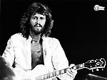 Bee Gees 1979 Barry Gibb at Dodger Stadium