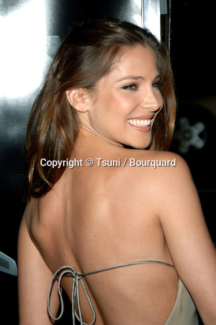Elsa Pataki arriving at the SNAKE ON A PLANE Premiere at the Chinese Theatre Los Angeles. August 17, 2006.