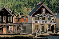 Old Houses, BC, British Columbia, Canada - Surreal Buildings